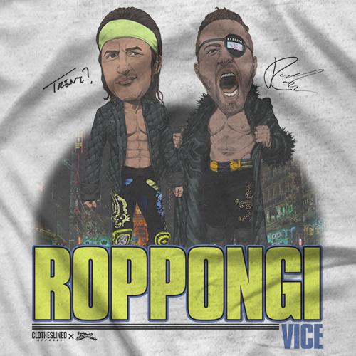 Roppongi Vice - Clotheslined X Notz T-shirt