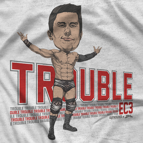 EC3 - Clotheslined X Notz T-shirt