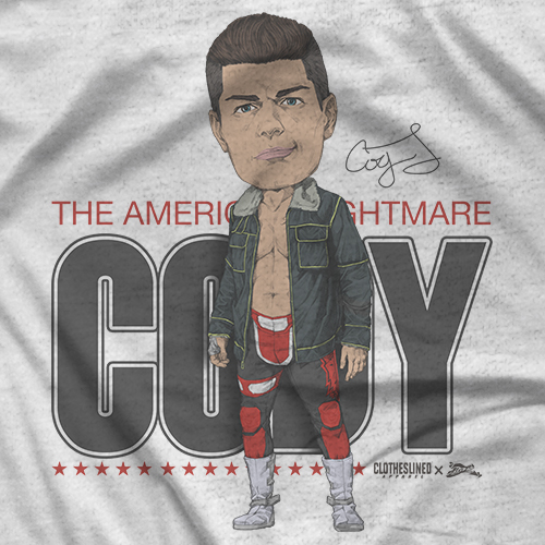 Cody - Clotheslined X Notz T-shirt