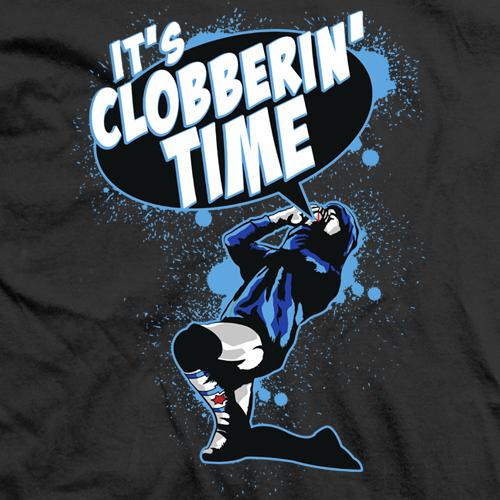 CM Punk Clobberin' Time T-shirt