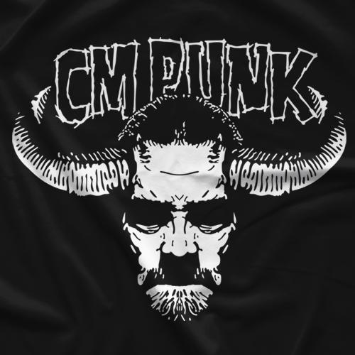 CM Punk Twist Of Cain T-shirt
