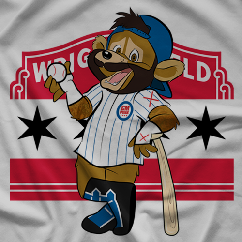 CM Punk Punk The Bear T-shirt