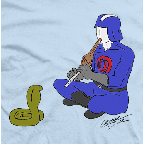 Christopher Daniels Cobra Commander T-shirt