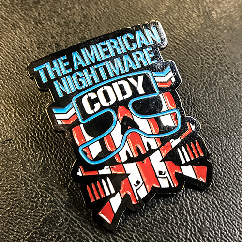 NJPW Collectors Pin: Cody Bullet Club