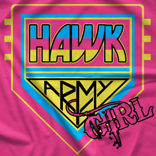 Hawk Army Girl T-shirt