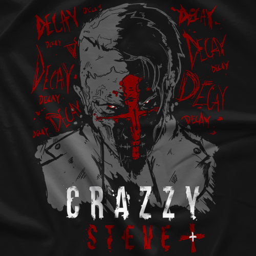 Crazzy Steve Crossed T-Shirt