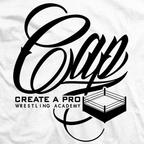 CAP Logo Script White