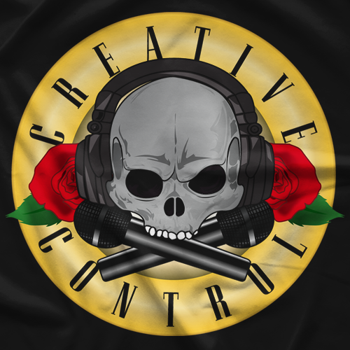Creative Control Skull N' Mics T-shirt