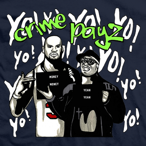 Crime Time Crime Payz T-shirt