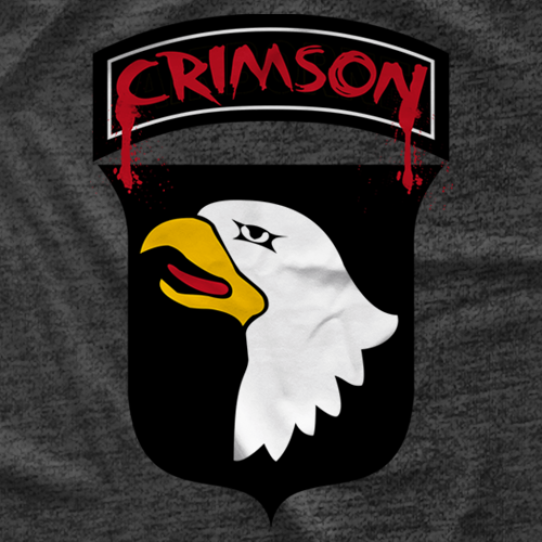 Crimson Crimson Badge T-shirt