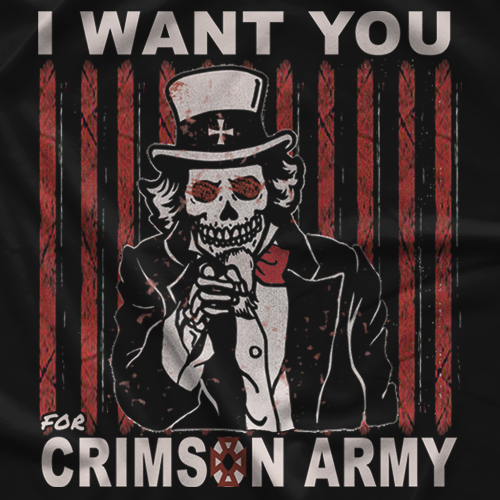 Crimson Crimson Army T-shirt