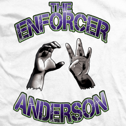 CW Anderson CW's Hands T-shirt
