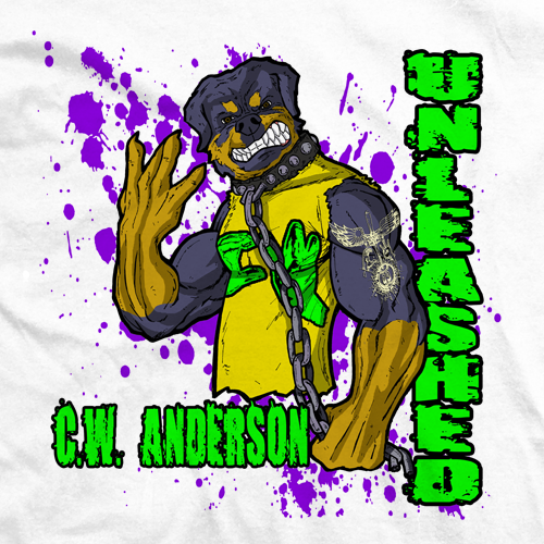 CW Anderson Da' Rottweiler T-shirt