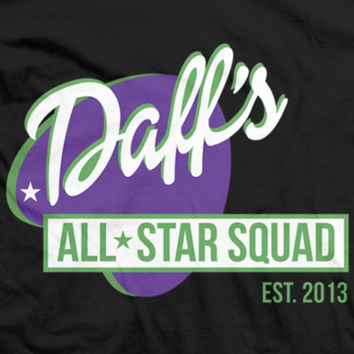 Daff's All Star Squad T-shirt