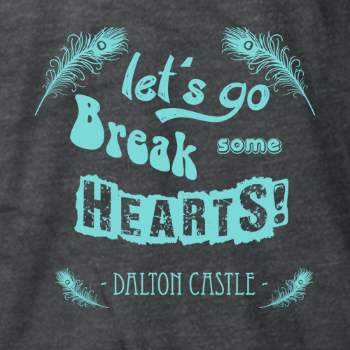 Dalton Castle Break Some Hearts T-shirt