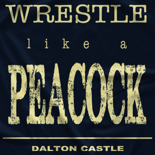 Dalton Castle Like A Peacock T-shirt
