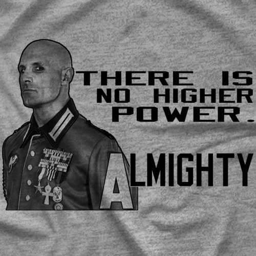 Almighty: The Motto T-shirt