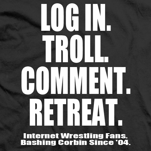 Log In, Troll, Comment, Retreat