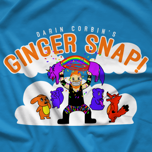 Unicorn Ginger Snap T-shirt