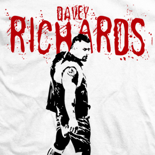 Davey Richards Splatter T-shirt