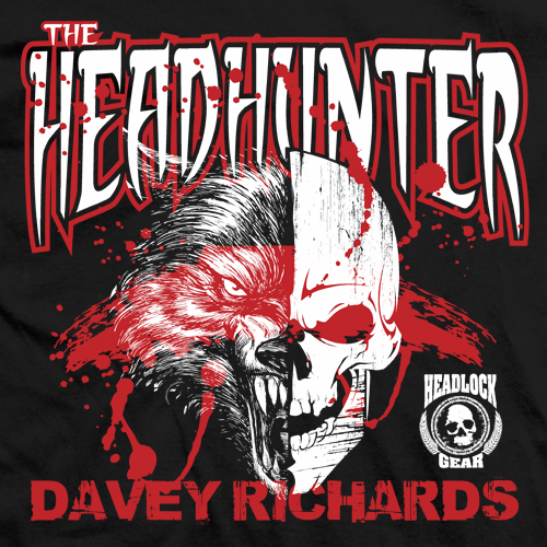 Davey Richards Headhunter T-shirt