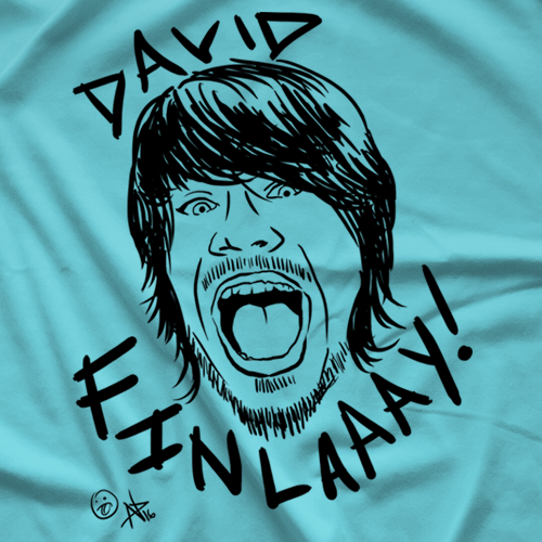 David Finlay Face Finlay T-shirt