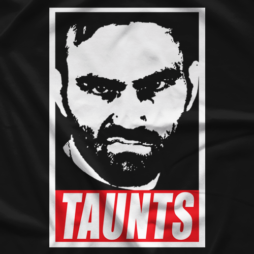 David Starr Obey Taunts T-shirt