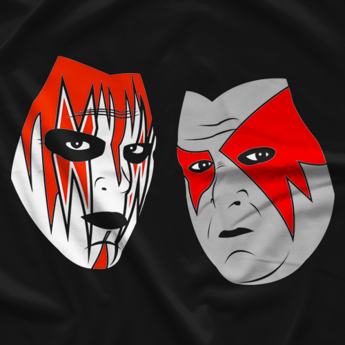 Masked Superstar Demolish T-shirt