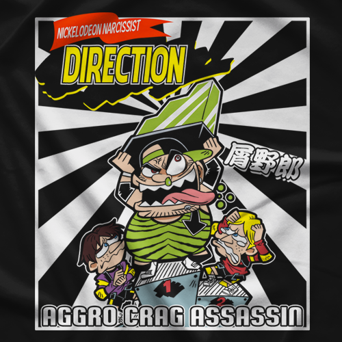 Derek Direction Aggro Crag Assassin T-shirt