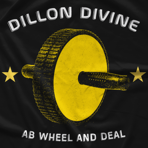 Dillon Divine Ab Wheel T-shirt