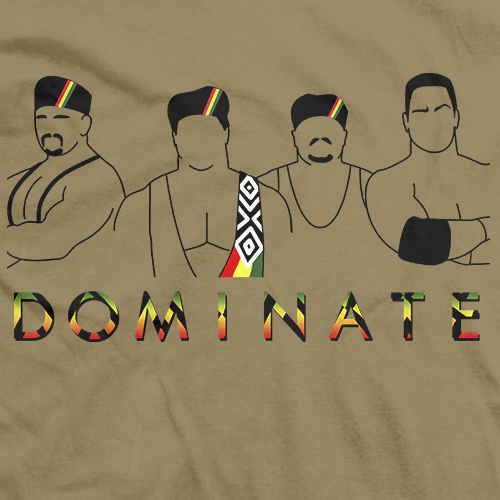 Dlo brown Dominate T-shirt