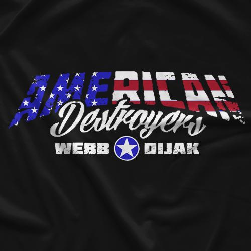 Donovan Dijak American Destroyers T-shirt