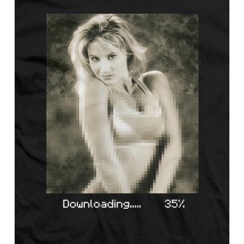 Downloading... T-shirt