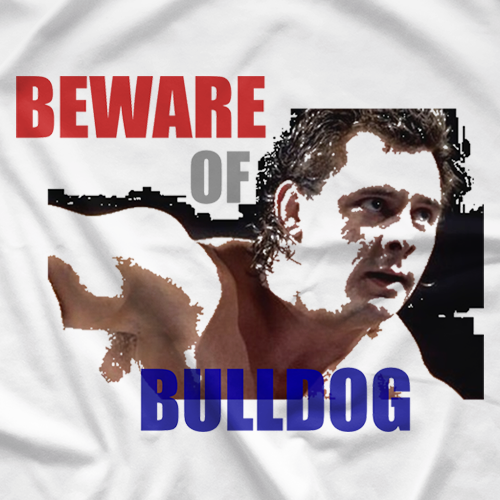 Dynamite Kid Beware Of Bulldog T-shirt