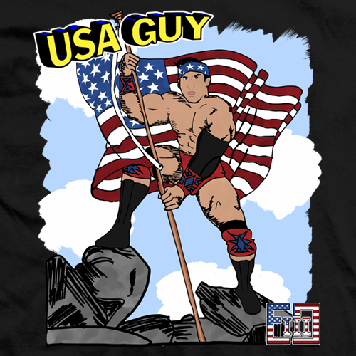 EC3 USA Guy T-shirt