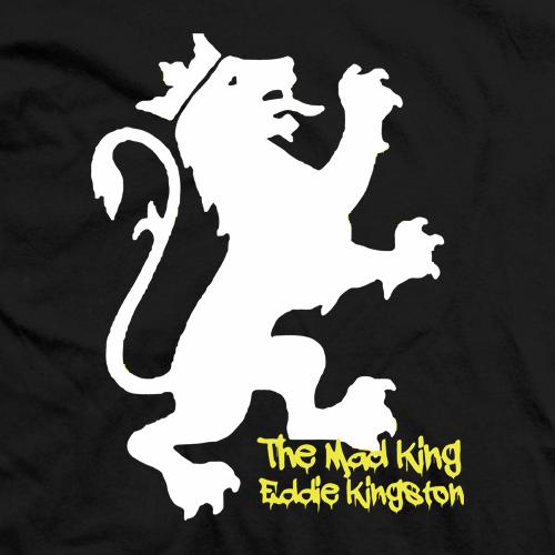 Eddie Kingston Mad King Black T-shirt