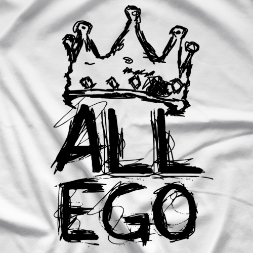 Ethan Page Scribble Ego T-shirt