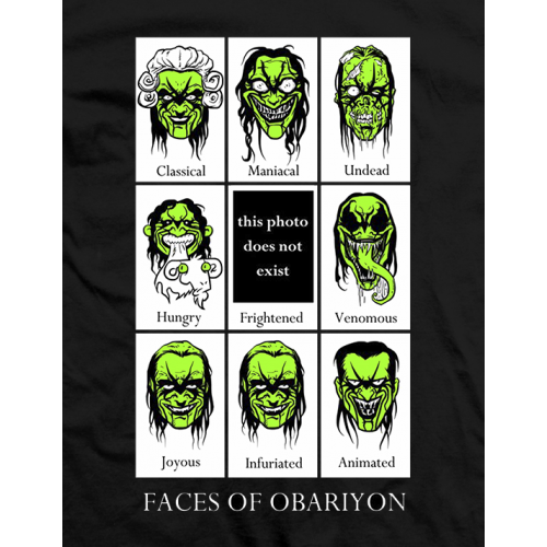 Faces Of Obariyon