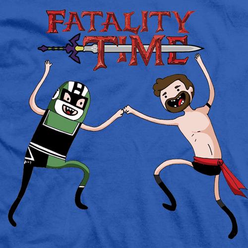 Fatality Time Blue