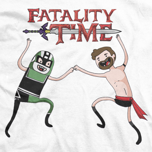 Fatality Time White