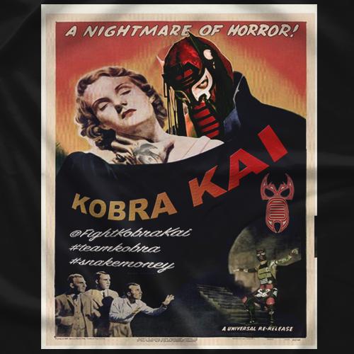 Fight Kobra Kai Kobra Vamp Classic T-shirt