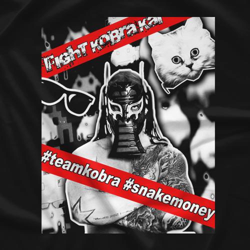 Fight Kobra Kai Kobra Kitten T-shirt