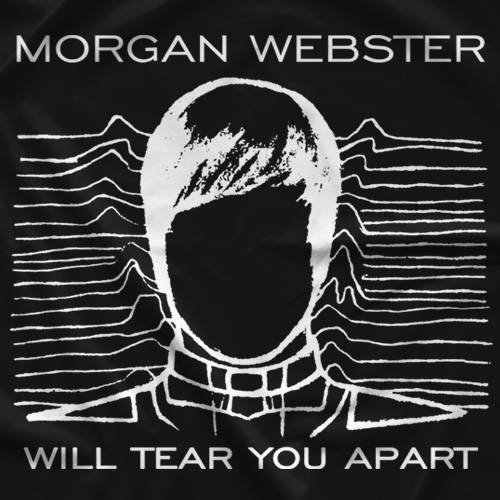 Flash Morgan Webster Tear You Apart T-shirt