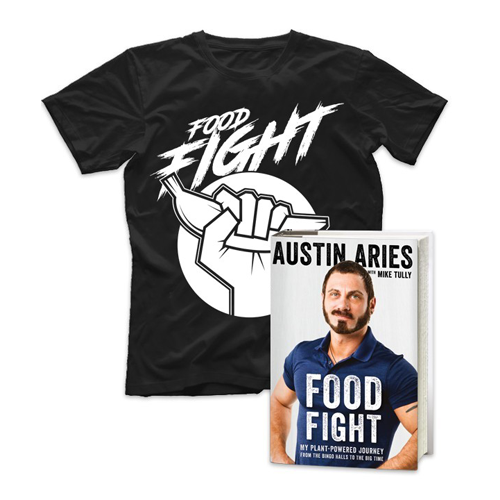 Food Fight Book & Shirt