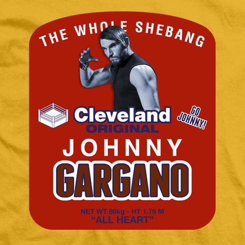 Johnny Gargano Mustard T-shirt