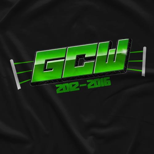 Pro Wrestling Sheet GCW 2012-2016  T-shirt