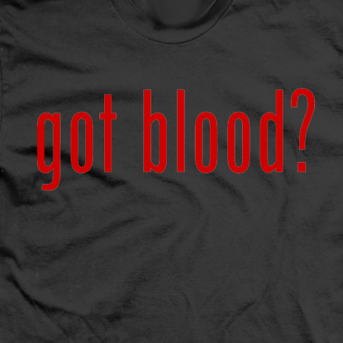 Justin Credible Got Blood? T-shirt