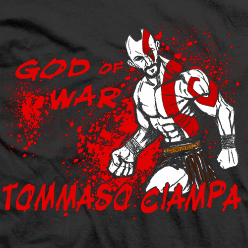 Tommaso Ciampa God of War T-shirt