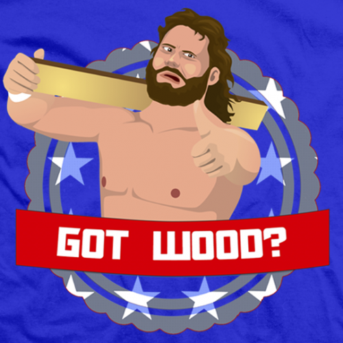 Hacksaw Jim Duggan Got Wood T-shirt