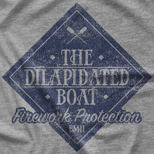 Dilapidated Boat - Matt Hardy T-shirt